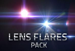 10 Lens Flares Pack