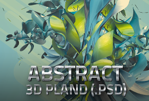 Abstract 3D Plant
