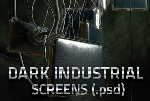 Dark Industrial Screens