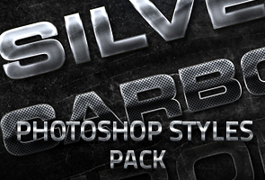 10 Metallic Photoshop Layer Styles
