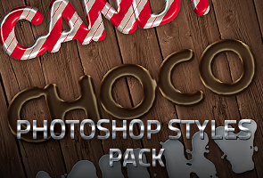 6 Sweet Photoshop Layer Styles